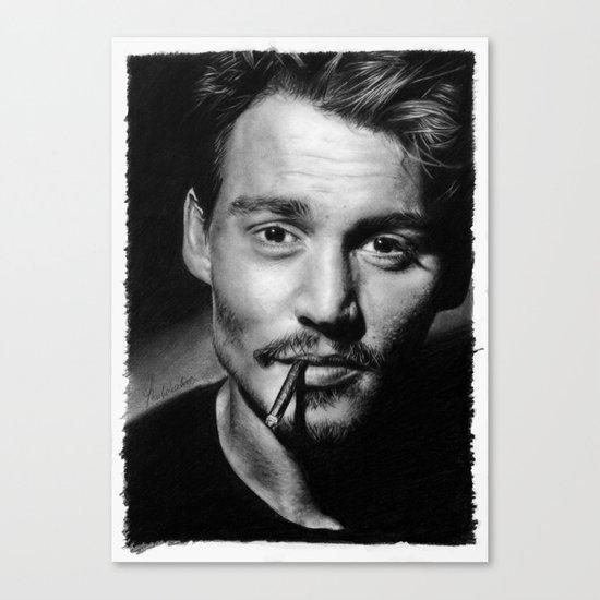 Dear Mr. Depp Canvas Print