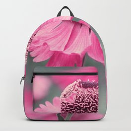 Pink flower 10 Backpack