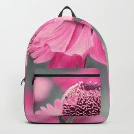 Pink flower 10 Backpack
