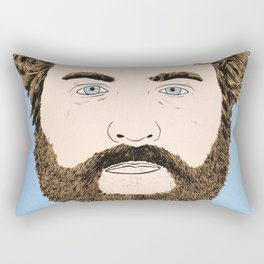 Zach Galifianakis Rectangular Pillow