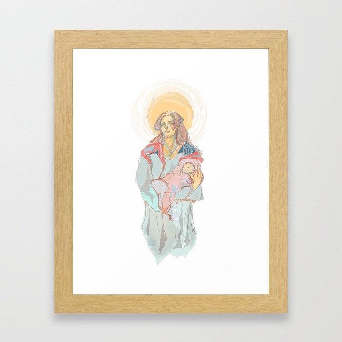 Innocent Aeolus  Framed Art Print
