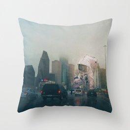 Traffic Jam Throw Pillow