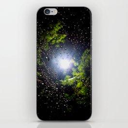 Rain Drop Galaxy iPhone Skin