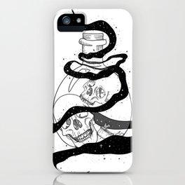 Magic Jar of Skulls iPhone Case