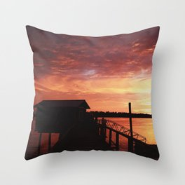 Closure Throw Pillow
