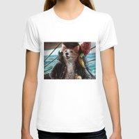 cassandra jean T-shirts featuring Jean Lafeet by Christina Hess