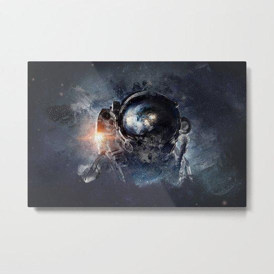 Maybe Planetary Metal Print