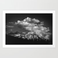 cloud Art Prints featuring Cloud by Tomas Hudolin