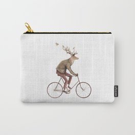Even a Gentleman rides Carry-All Pouch
