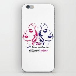 We All iPhone Skin