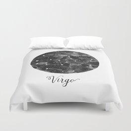Virgo Constellation Duvet Cover