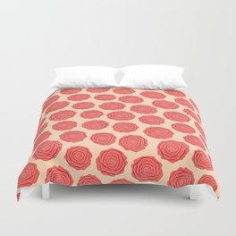 Roses Pattern Duvet Cover