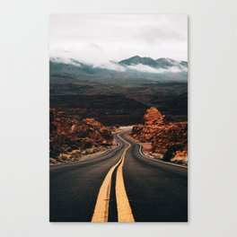 Road to Valley of Fire Canvas Print
