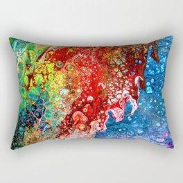 Tumultuous World-Scape Rectangular Pillow