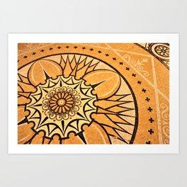 Library Floor Art Print