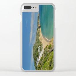 Praia da Salema, Portugal Clear iPhone Case