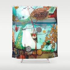 Nature/Nurture Shower Curtain