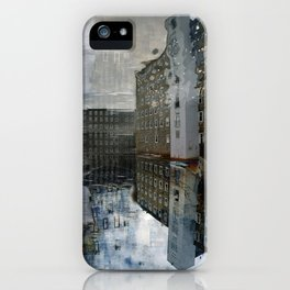 Newmarket Mills Abstraction iPhone Case