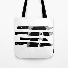 knife to meet you Tote Bag