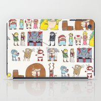 nintendo iPad Cases featuring Nintendo Characters by Hamburger Hands