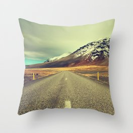 Landscape with Road Throw Pillow
