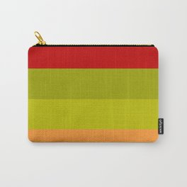 Warm Bright Autumn Leaves - Color Therapy Carry-All Pouch
