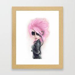 Pinkanhy Polka Framed Art Print
