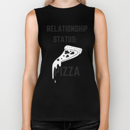 Relationship Status: Pizza, Pizza Lover Biker Tank