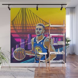 Steph Curry Wall Mural