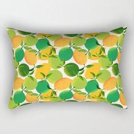 Lemons and Limes Rectangular Pillow