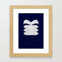 The Third Doctor Framed Art Print