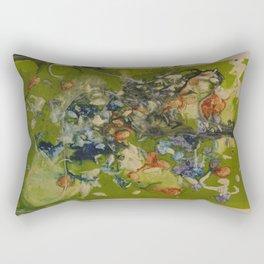 Tea Print #3 Rectangular Pillow