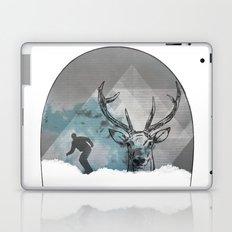 Cool Snowboarding Pattern Laptop & iPad Skin