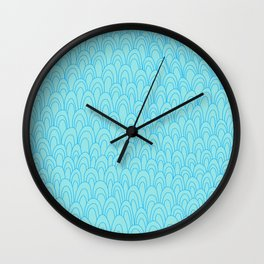 Swoops and Loops Wall Clock