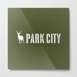 Utah: Park City Deer Metal Print