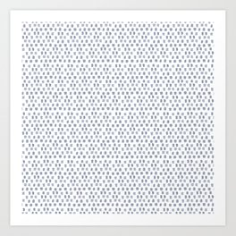 Sketchy Dot Art Print
