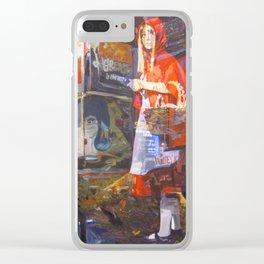 In bocca al Lupo Clear iPhone Case