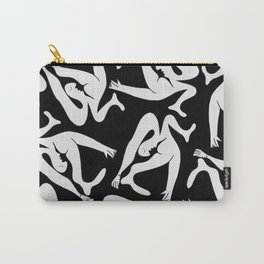 Picasso Pattern - Black and White Carry-All Pouch