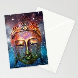 buddha face Stationery Cards