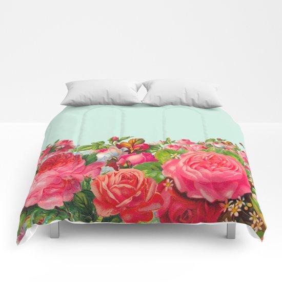 BOLDEST FLORAL Comforters