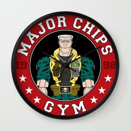 Major Chip's Gym Wall Clock