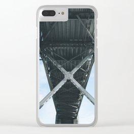 Under the Bay Bridge Clear iPhone Case