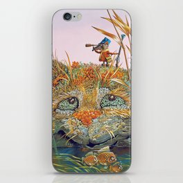 The case on the hunt iPhone Skin