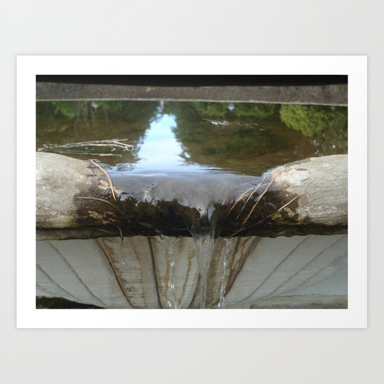 Bowing Out Art Print