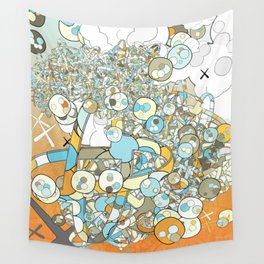 Nested Composition 3 Wall Tapestry