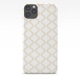 Alva Pattern - Coconut iPhone Case