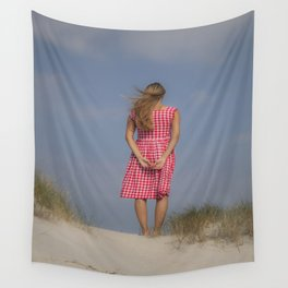 Looking out Wall Tapestry