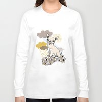 chihuahua Long Sleeve T-shirts featuring Chihuahua by Camille Roy