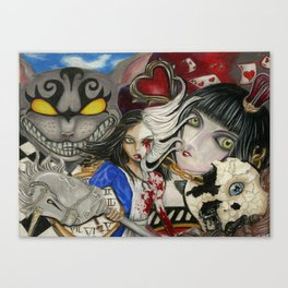 Alice the madness returns Canvas Print