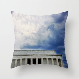 Dramatic Background Throw Pillow